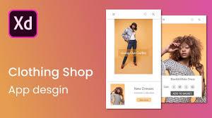 Clothing Design App Clothing Shop App Design Tutorial Ui Design Bestofux
