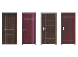 Sliding PVC & Wpc Bathroom Door Price List & Designs Online in India