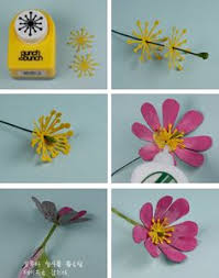Paper Flower Punches 415 Best Flowers Paper3 Images Paper Flowers Cloth Flowers