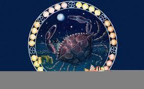 Aesthetic Cancer Zodiac Background ...