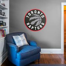 toronto raptors logo giant officially licensed nba removable wall decal fathead wall decal