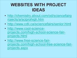 Science Fair Project Journal Template Information Display