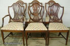 awesome home unique shield back chairs at pair of hepplewhite with windsor feather painted from