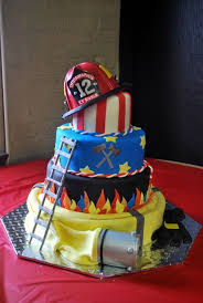 Firefighter Birthday Cakes