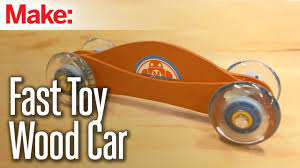 fast toy wood car