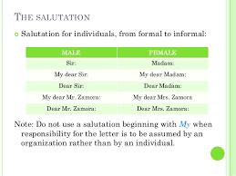 business letter salutation proper salutation for business letter salutations in letters the