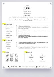 Basic Resume Template: Free Download, Edit, Create, Fill and Print