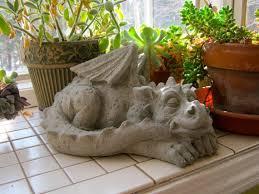 dragon statue concrete dragons meval