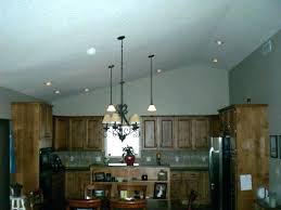 pendant lights vaulted ceilings for ceiling recessed lighting medium size of sloped adaptor can welcoming spaces