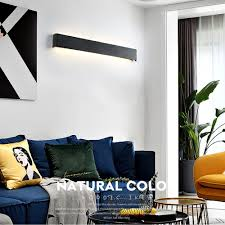 Brelong Led Indoor Living Room Bedroom Bedside Wall Lamp 22w