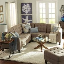 Pier One Living Room Build Your Own Nyle Putty Tan Sectional Collection Pier 1 Imports