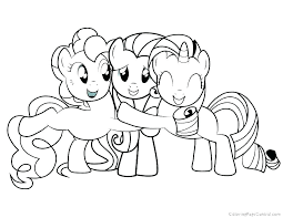 My Little Pony Coloring Pages Print Trustbanksurinamecom
