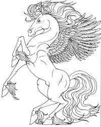 Baby Pegasus Coloring Pages Coloring Page