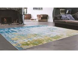 grey green turquoise with very light yellow indoor area rug 5 3 x 7 for 4