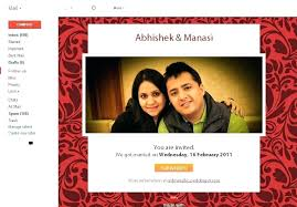 Free Email Invite Templates E Invitations Wedding Invitation Indian