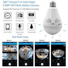 Ebay Light Bulb Camera 360 Panoramic Home Light Bulb Spy Hidden Camera Security