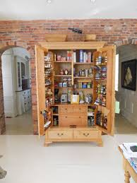 Oak Kitchen Pantry Cabinet Custom Pantries Custommadecom