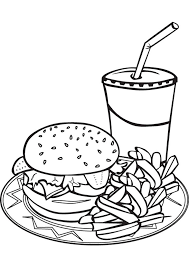 Small Picture 31 best food coloring pages images on Pinterest Food coloring