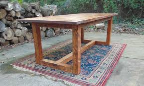 Large Farmhouse Kitchen Table Dining Table Farmhouse Table Large Table Reclaimed Wood