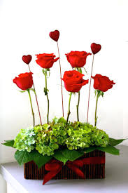 ... Red And White Flower Arrangements Best Valentine Flower Arrangements  Ideas On Decorating Red White Flower Arrangements