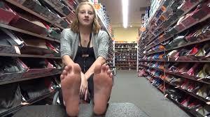Foot fetish interview girl