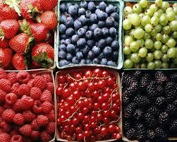 پوست زیبا با میوه
