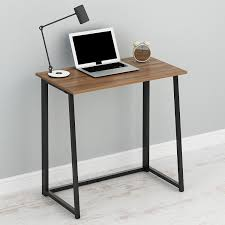 computer desk for home office. Perfect Office Cherry Tree Furniture Compact FlipFlop Folding Computer Desk Home Office  Laptop Desktop Table In For A
