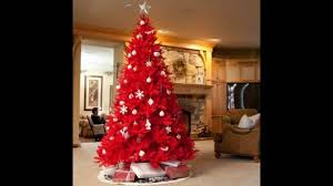 Beautiful Red Christmas Tree Decoration Ideas Christmas Celebrations
