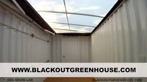 Small Light Dep Greenhouse Blackout Greenhouse H365 Automatic Light Deprivation Greenhouse
