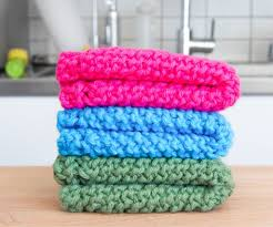 Knitted Washcloth Pattern