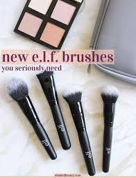 e l f just released a ton of new affordable makeup brushes through to see which