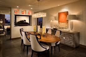 modern rectangular crystal chandelier for warm dining room color with cozy interior design ideas
