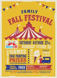Fall Festival Flier Shiloh Church Family Fall Festival