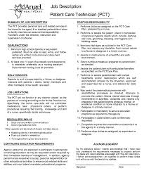 Nurse Technician Resumes Pin By Ririn Nazza On Free Resume Sample Job Description