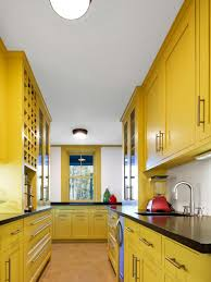 Yellow Kitchen Choosing Your Kitchen Cabinets Colors In Right Color Hupehome