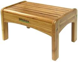 Wooden step stool with handle Library Wooden Step Stool With Long Handle Outdoor Half Stair Bamboo Growing Up Green Lb Load Fxprofit Wooden Step Stool With Handle Fxprofit