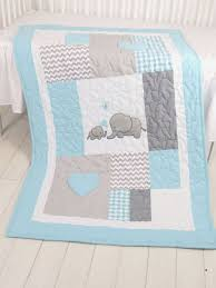 Best 25+ Baby patchwork quilt ideas on Pinterest | Baby quilt ... & Aqua Gray Blanket, Elephant Quilt Blanket, Chevron Baby Patchwork Blanket Adamdwight.com