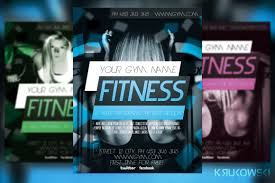 fitness flyer template teamtractemplate s fitness flyer template flyer templates on creative market 0texamqn