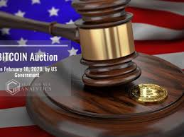 The auction will take place on the gsa auctions website, starting on. Bitcoin Btc Auction On February 18 2020 By Us Government