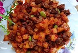 Jun 13, 2021 · resep sambal goreng kentang ati. Resep Sambal Goreng Kentang Ati Ampela Menu Lebaran Pendamping Opor Portal Purwokerto