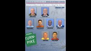 Charges Filed against eight men in Turnpike 'Pay to Play' scheme | fox43.com