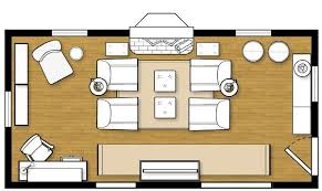 Living Room Excellent Layout Design Ideas Narrow
