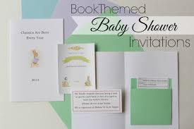 Book Baby Shower  EtsyLibrary Themed Baby Shower Invitations