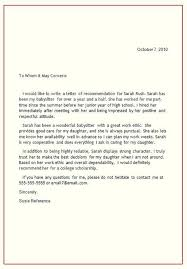 Letter Of Recommendation From Employer To College Social Media Manager Cover Letter Example Work Recommendation From