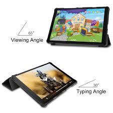 Bao Da Cover Dành Cho Máy Tính Bảng Lenovo Tab M8 TB-8505X Hỗ Trợ Smart  Cover