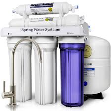 ISPRING WQA Gold Seal 5-Stage With Superior Quality Filter 75GPD Under Sink  Reverse Osmosis Water Filter System Home Depot
