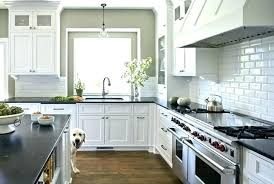 white subway tile with gray grout kitchen gray beveled subway tile beveled subway tile beveled subway