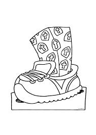 De Schoen Zetten Sinterklaas Kleurplaten Kleurplaatcom