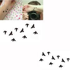 Dočasné Tetování S Ptáčky Poštovnézdarmacz