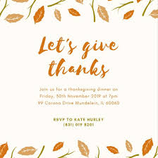 Thanksgiving Invites Thanksgiving Dinner Invitations Sunshinebizsolutions Com